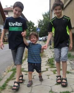 Márk, Milen és Martin