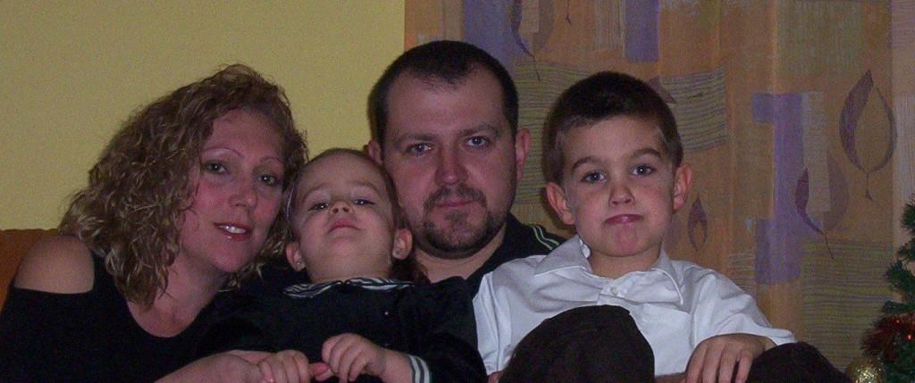 Kis családunk ...